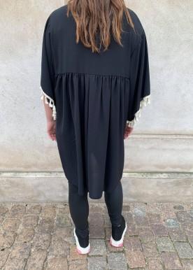 melinda kjole sort