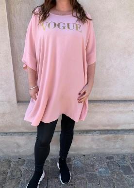 Vogue dress rosa