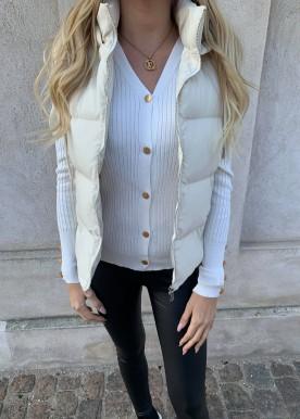 sia short vest beige
