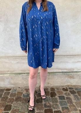 tilla kjole blue