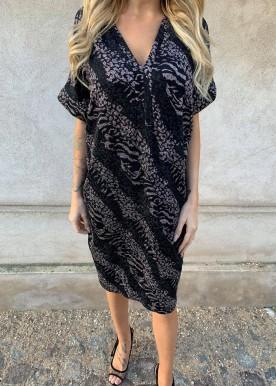 Brianna glitter dress