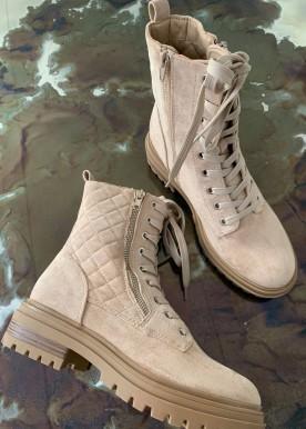 belluci boots beige