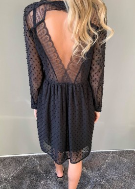 Alianna kjole sort