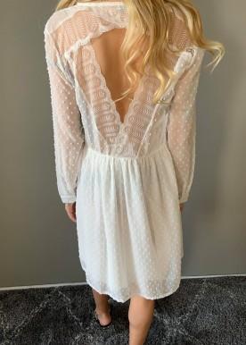 Alliana kjole hvid