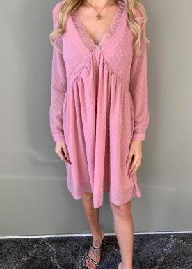 Alianna kjole rosa