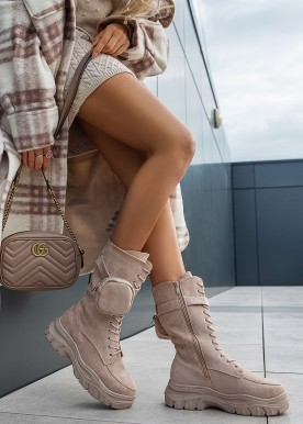 wonda boot beige
