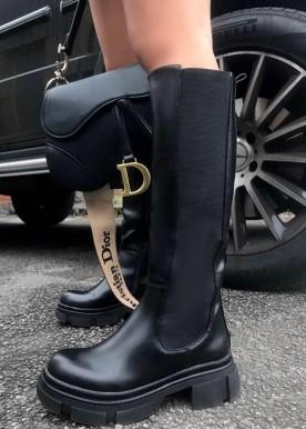 Kassie boot long black