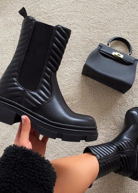 Stacie boots black