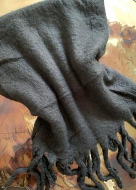 Mary scarf black S1711
