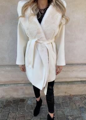 copperose fur coat light