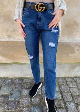 mara mom jeans rib