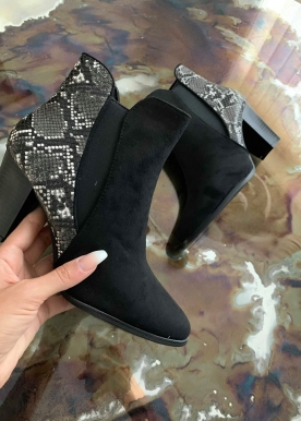 Luna boot black