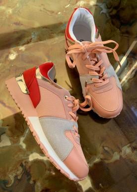 korina sneakers rosa