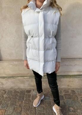 icy vest white
