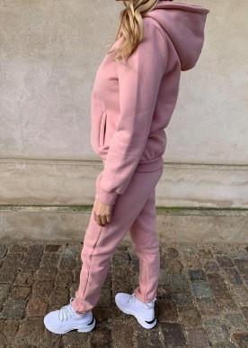 icy sweat sæt rosa hoodie