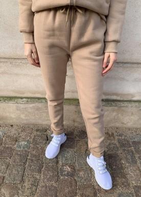 icy sweat sæt camel pants