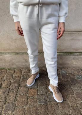 icy sweat sæt white pants