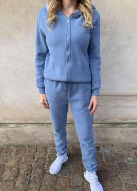 icy sweat sæt blue pants