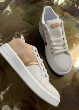 ina sneakers rosa/guld