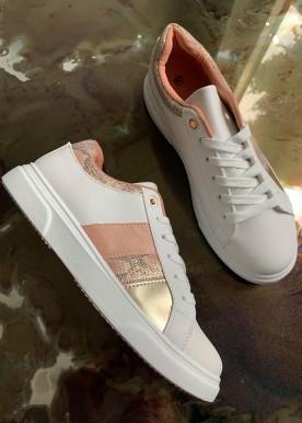 flora sneakers rosa