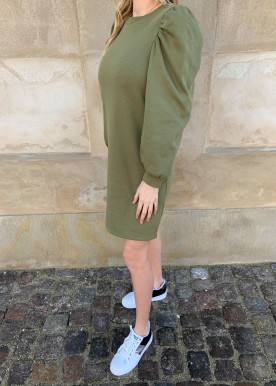 pcjassi ls dress olive