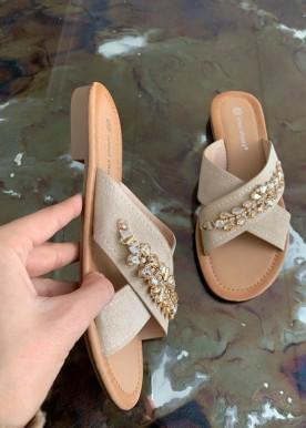 melia beige sandal