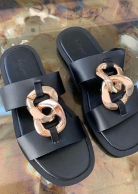 wonna slippers black