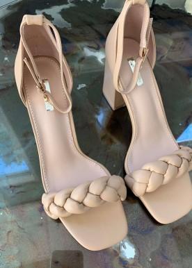 frida sandal nude